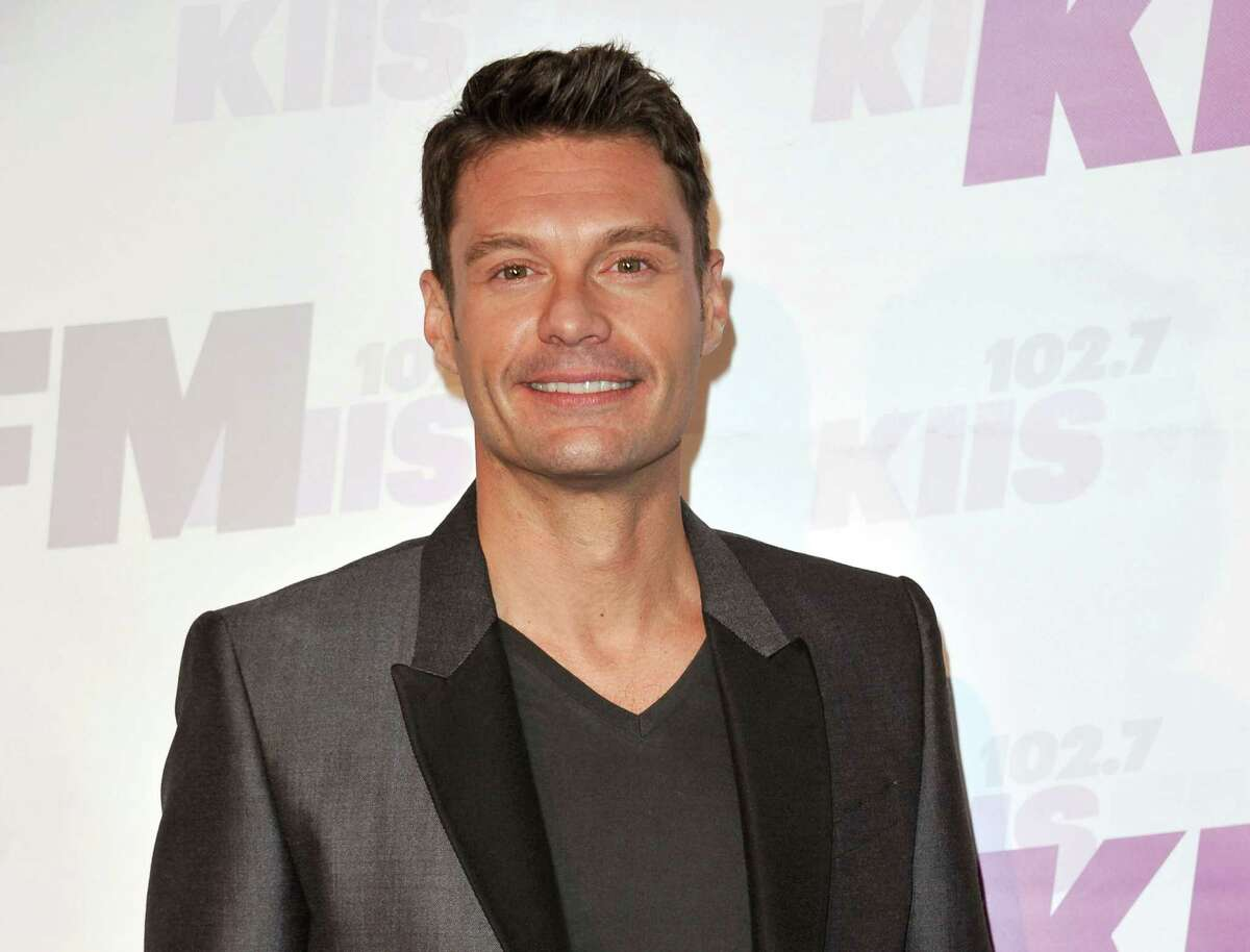 """FILE - In this May 10, 2014 file photo, Ryan Seacrest arrives at Wango Tango in Carson, Calif. Seacrest will host NBC's late-night coverage during the 2016 Olympics. The network said Wednesday that the """"American Idol"""" host would take over the late-night role in Rio. He was a correspondent for NBC during the 2012 London Games. (Photo by Richard Shotwell/Invision/AP, File) ORG XMIT: NYET305"""