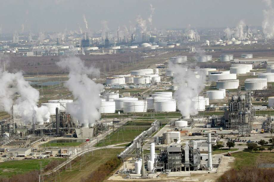 Even the petrochemical construction boom is running out of steam.  Photo: David J. Phillip, STF / AP2010