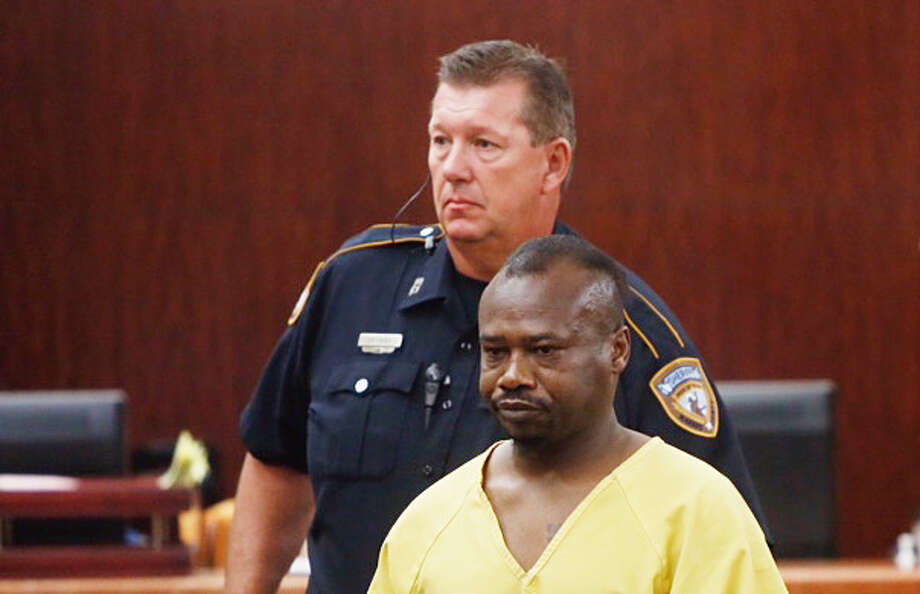 David Conley, who is charged with three counts of capital murder in the fatal shooting of eight people, was taken to a local hospital on Friday.  Photo: Cody Duty