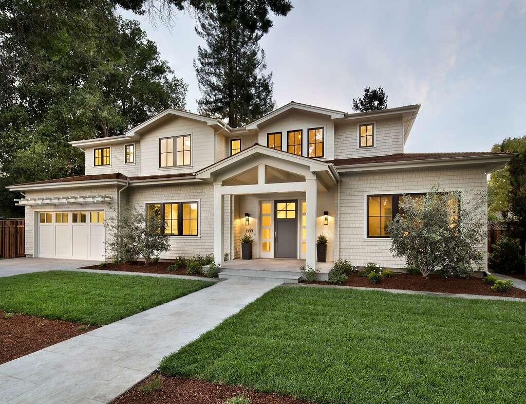The Newly Built Home At 1355 Hillview Drive In Menlo Park Is Available For 5398 Million