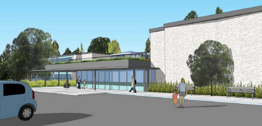 An architectural rendering of the proposed Next Steps facility on the campus of Giant Steps, a school for students with autism. Photo: Contributed Photo / Fairfield Citizen /  Fairfield Citizen contributed