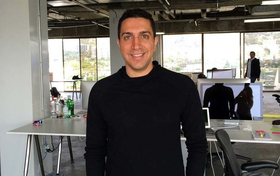 Sean Rad, founder and chief executive officer of Tinder, stands for a photograph in the company's offices in Beverly Hills, California, U.S., on Thursday, May 8, 2014. As mobile-centric apps like Tinder, Instagram and WhatsApp Inc. have grown in popularity, technology companies that started on the desktop are migrating on the smartphones, which users carry with them all day. Photographer: Serena Saitto/Bloomberg  Sean Rad, founder and chief executive officer of Tinder, stands for a photograph in the company's offices in Beverly Hills, California, U.S., on Thursday, May 8, 2014. As mobile-centric apps like Tinder, Instagram and WhatsApp Inc. have grown in popularity, technology companies that started on the desktop are migrating on the smartphones, which users carry with them all day. Photographer: Serena Saitto/Bloomberg *** Local Caption *** Sean Rad Photo: Serena Saitto, Bloomberg