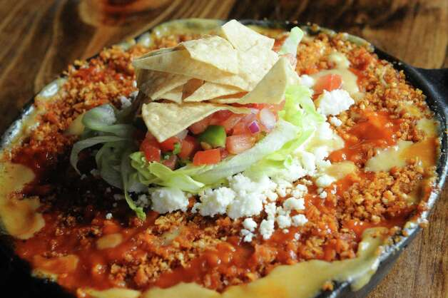South of the border mac and cheese at Druthers Brewing on Thursday Aug. 6, 2015 in Albany, N.Y. (Michael P. Farrell/Times Union) Photo: Michael P. Farrell / 10032919A