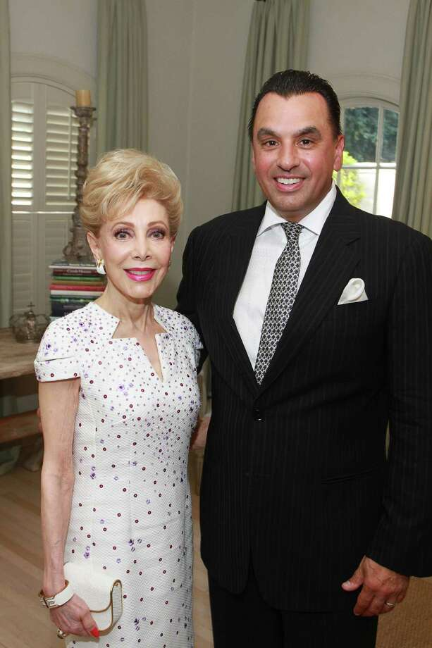 Honoree Margaret Alkek Williams with Dr. Devinder Bhatia  Photo: Gary Fountain, Houston Chronicle / Copyright 2015 by Gary Fountain