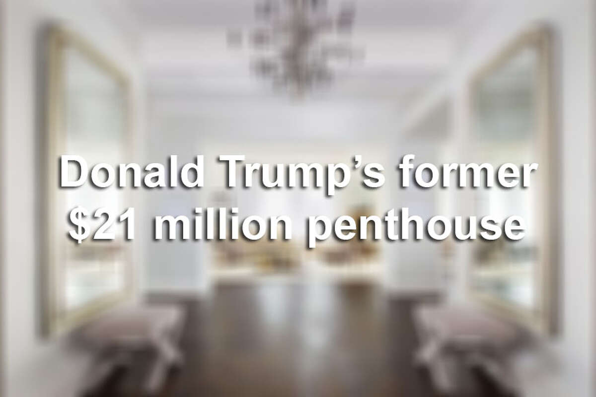 Keep clicking to see the $21 million Manhattan penthouse that Donald Trump sold in July 2015.