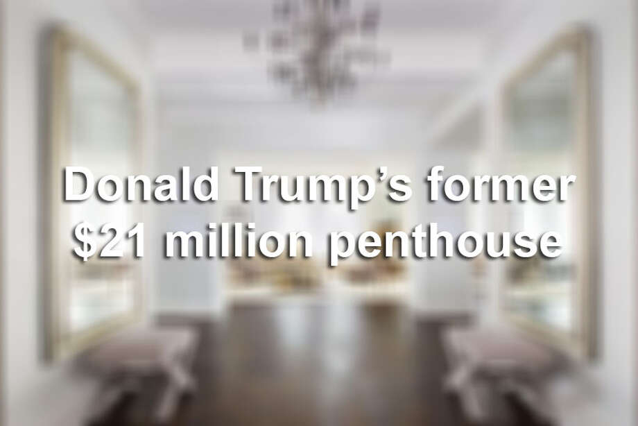 Keep clicking to see the $21 million Manhattan penthouse that Donald Trump sold in July 2015. Photo: File