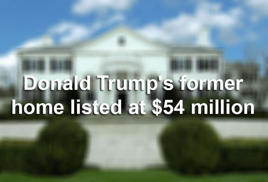 The former weekend home of real estate mogul Donald Trump is on the market for $54 million. Donald and Ivana Trump family owned the Greenwich, Connecticut mansion until the two divorced.Click through the slideshow to view the Trumps' past digs. Photo: File