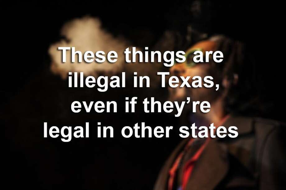 Scroll through the gallery to see which notable Texas laws won't change on Sept. 1. Photo: File