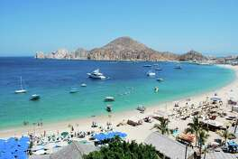 Boats of all sizes, from water taxis to yachts, fill bays and marinas in Cabo San Lucas.