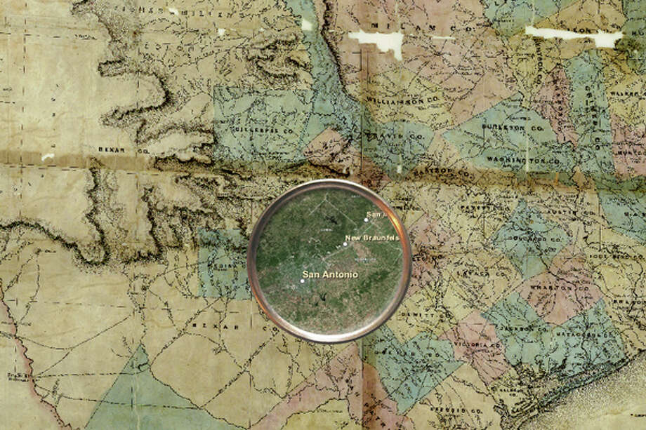 Texas has a rich history, and thanks to a cool new mapping tool from the general land office we have a new way of peering into our hidden history.Click forward to explore the history behind San Antonio, Central Texas, Houston and Austin. Photo: Texas General Land Office