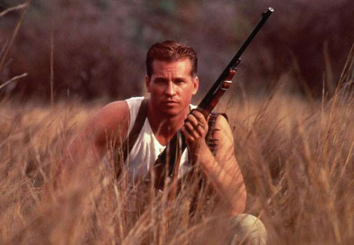Here's Val Kilmer from the 1996 film