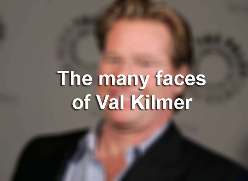Val Kilmer's appearance has changed several times over the years. Click through the slideshow to see the many faces of Val Kilmer.