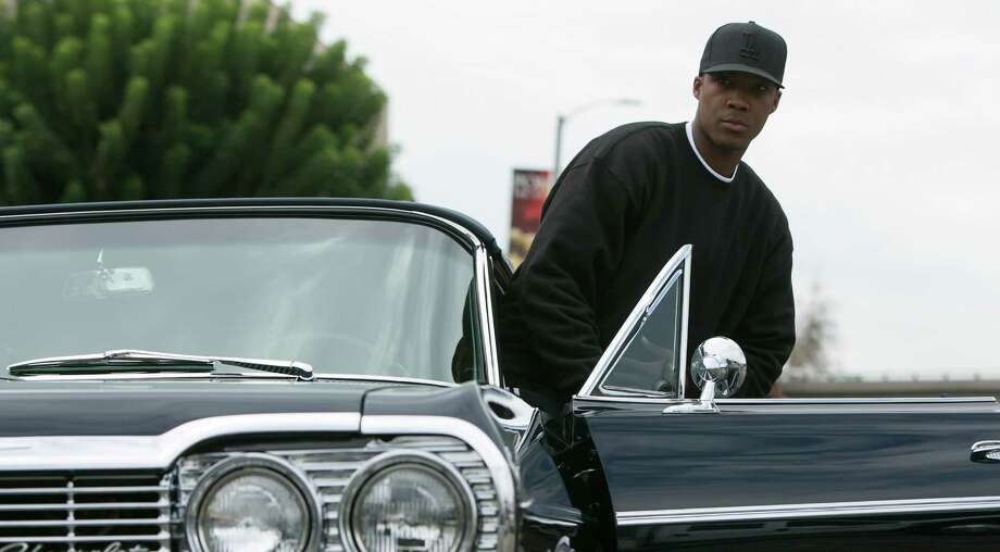 "This photo provided by Universal Pictures shows, Corey Hawkins as Dr. Dre, in a scene from the film, ""Straight Outta Compton."" The movie releases in U.S. theaters on Aug. 14, 2015. (Jaimie Trueblood/Universal Pictures via AP) ORG XMIT: CAET683 Photo: Jaimie Trueblood / Universal Pictures"