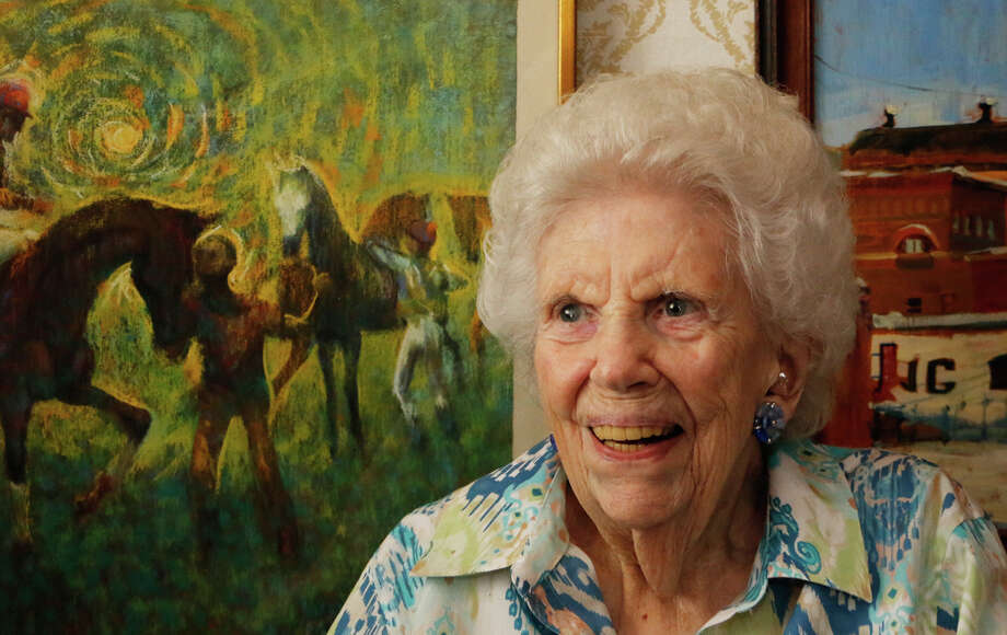 Minnie Bolster, 95, inside her home on Tuesday, August 5, 2015, in Saratoga Springs, N.Y. (Olivia Nadel/ Special to the Times Union) Photo: ON / 10032875A