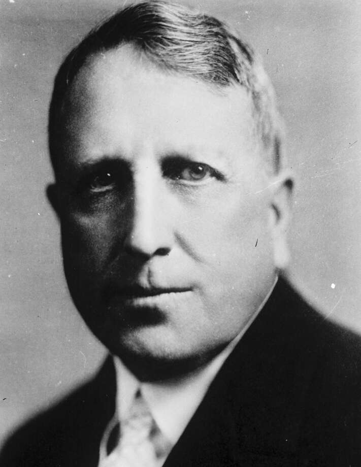 By the time he bought the Light in 1924, William Randolph Hearst's publishing empire stretched from coast to coast. One in four Americans at that time read a Hearst newspaper. Photo: Courtesy / Institute Of Texan Cultures