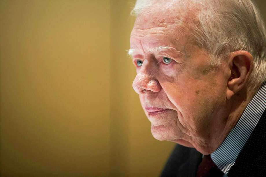 "Former President Jimmy Carter said that he has been given a diagnosis of cancer. ""Recent liver surgery revealed that I have cancer that now is in other parts of my body,"" the 90-year-old said in a statement. (Hilary Swift/The New York Times) Photo: HILARY SWIFT, STF / NYTNS"