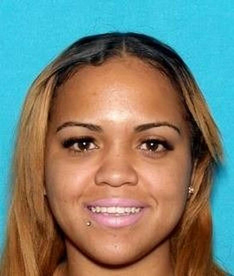 Alameda County prosecutors have charged Erlynne Kay Sanchez-Edwards, 25, with hit-and-run, resisting arrest and driving on a suspended license. Sanchez-Edwards allegedly crashed a stolen car on the Bay Bridge and struggled with a California Highway Patrol officer before falling into the water 70 feet below on the morning of Wednesday, Aug. 12, 2015. Photo: Courtesy, California Highway Patrol