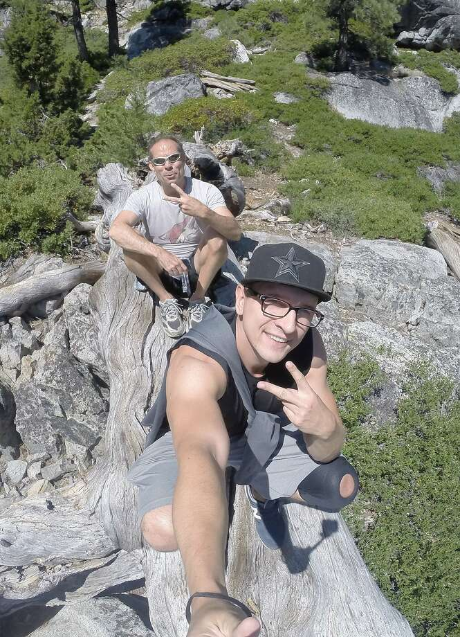 A photo of the missing man and another unidentified man found on his GoPro camera. Photo: Courtesy Of SLTPD