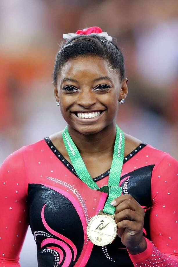 Spring's Biles snares early lead at USA Gymnastics ...