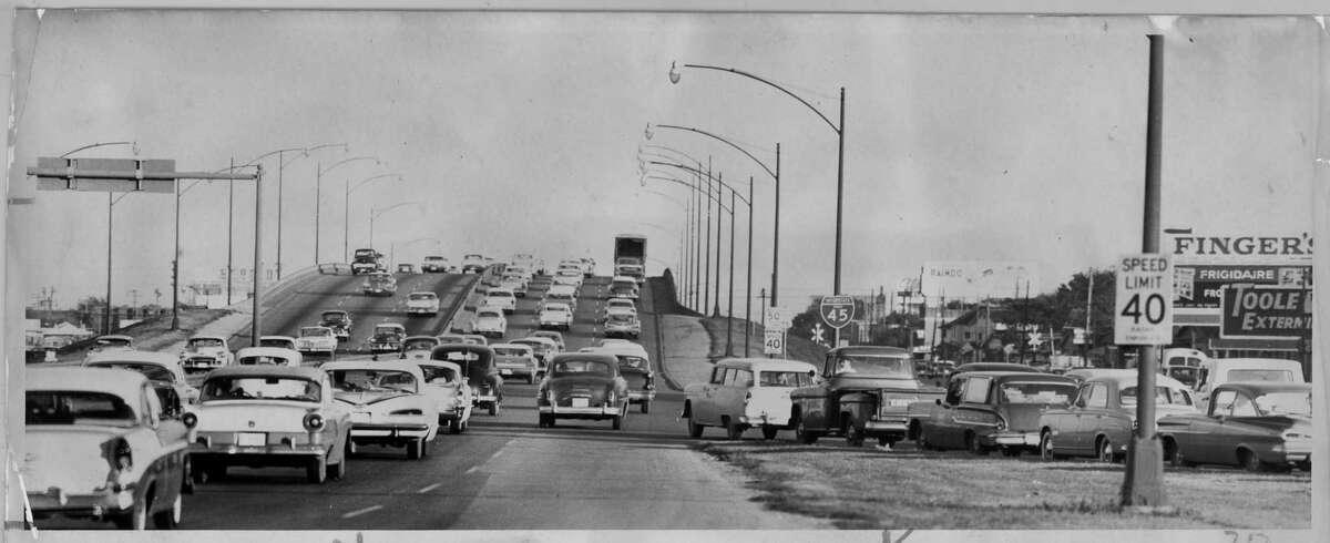 Gulf Freeway, October 4, 1959.