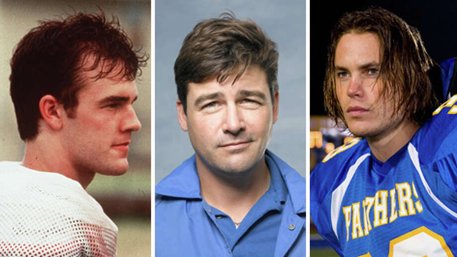 Jonathan Moxon (left), Eric Taylor and Tim Riggins are some of the more notable fictional football characters.