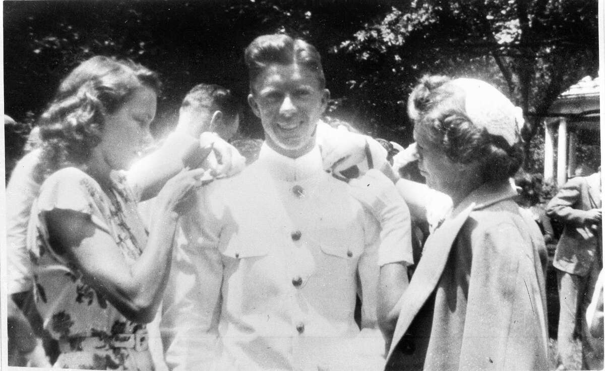 1946: Naval Academy and marriage Carter graduates from the U.S. Naval Academy in Annapolis, Maryland, and marries Eleanor Rosalynn Smith a month later. Carter worked on the Navy's nuclear submarine program and in 1953 returned to Plains after his father's death to run the family peanut farm and warehouse business.