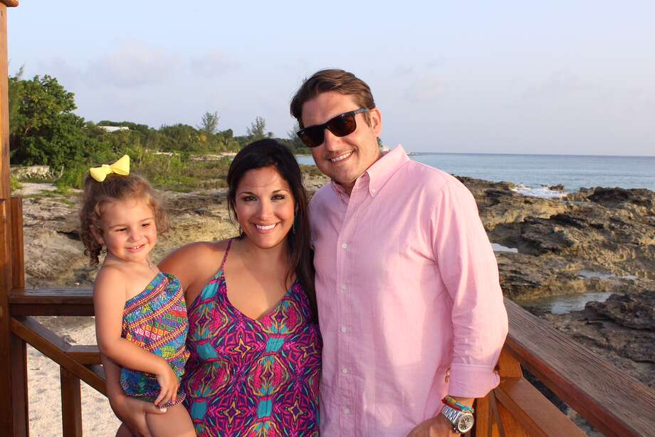 Lauren Dito Walker of Beth Wolff Realtors enjoyed a family getaway to Seven Mile Beach in the Cayman Islands with her husband Grant Walker and their daughter, Charlotte.