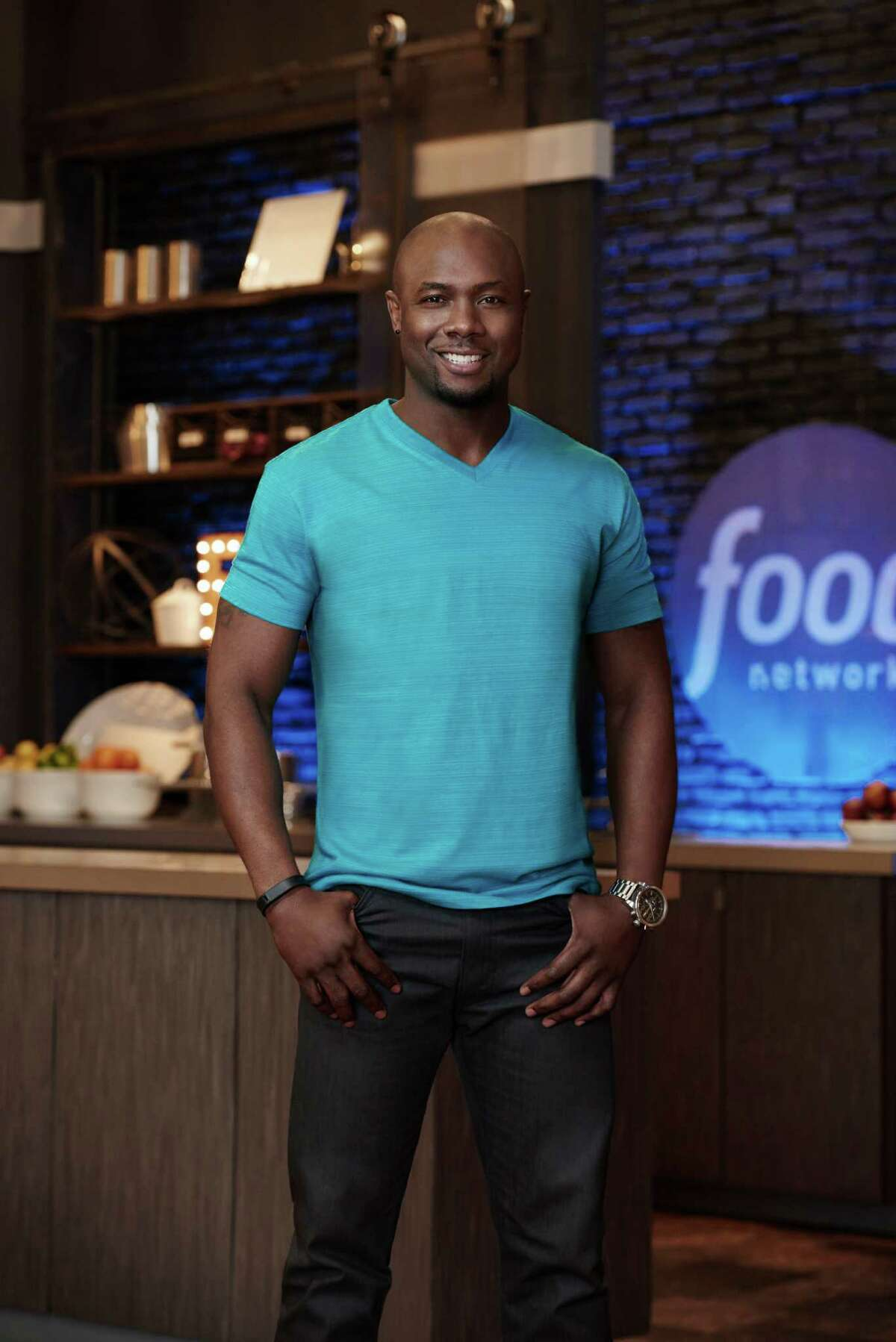 """Houston's Eddie Jackson (who owns a private fitness gym in Cypress) is among the top three finalists on Food Network's """"Food Network Star."""" The show's finale will be broadcast Aug. 16. Finalist Eddie Jackson, as seen on Food Network Star, Season 11."""