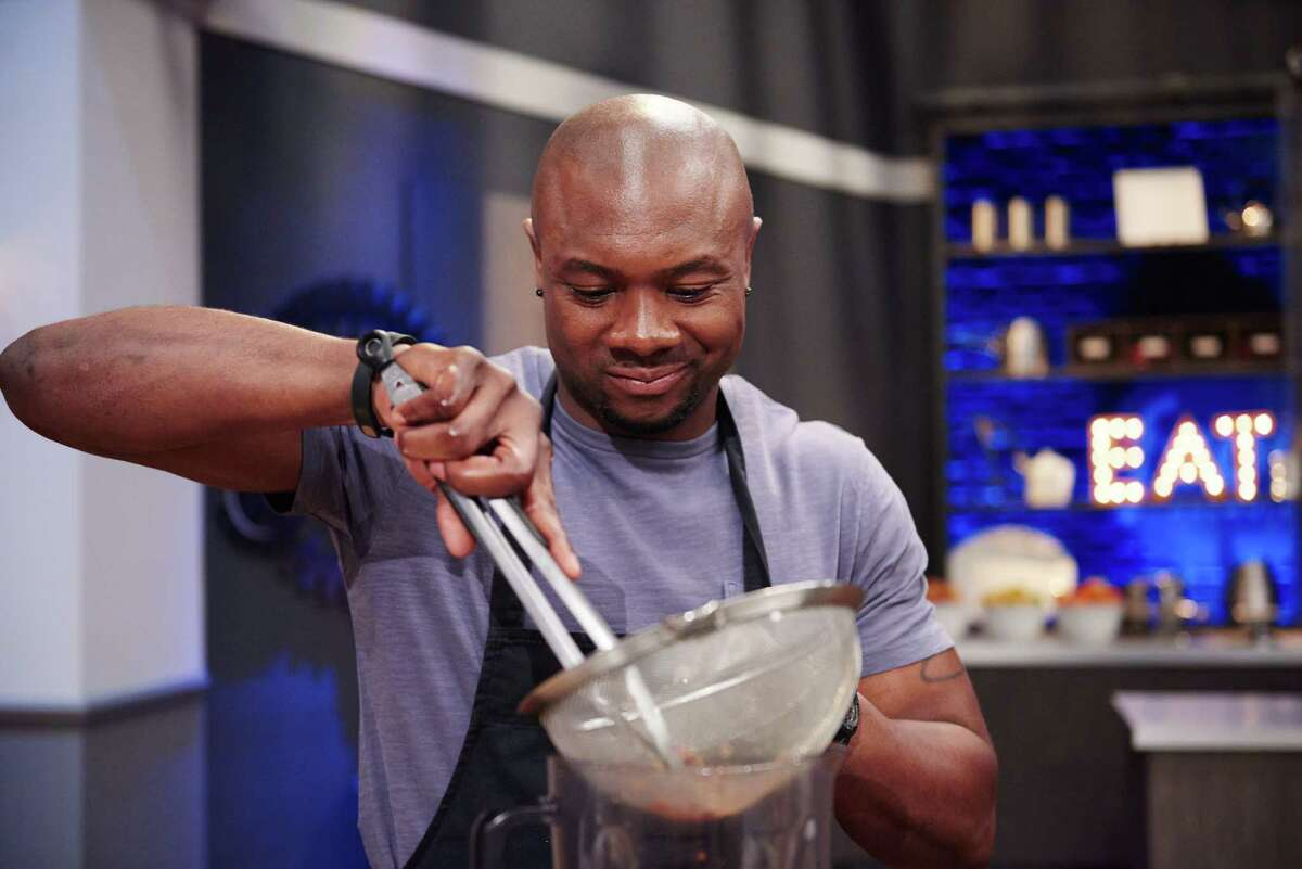 """Eddie Jackson, who owns a private fitness gym in Cypress, is among the three finalists on Food Network's """"Food Network Star."""" The show's finale will be broadcast on Sunday."""