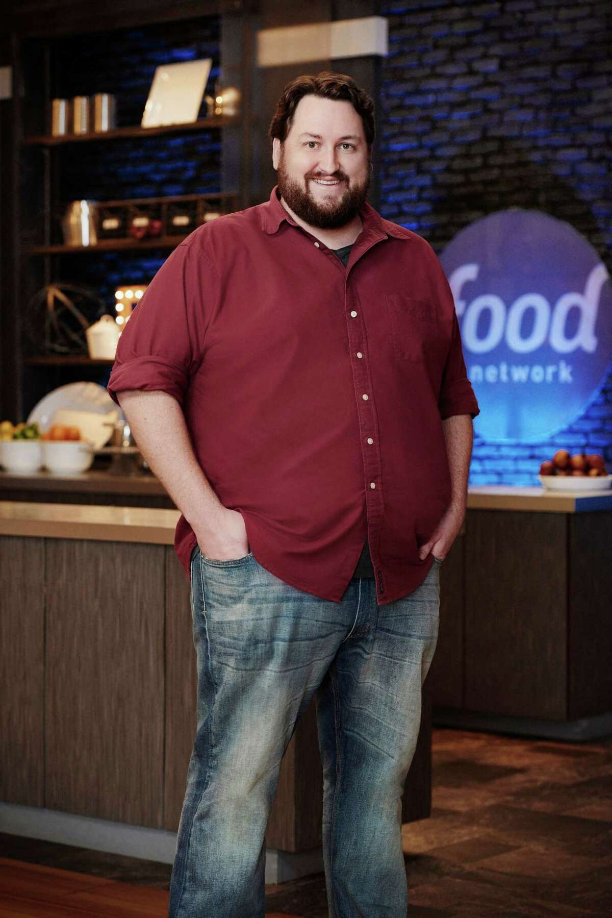 """Jay Ducote, of Baton Rouge, La., who grew up in Sugar Land, is among the top three finalists on Food Network's """"Food Network Star."""" The show's finale will be broadcast Aug. 16. Finalist Jay Ducote, as seen on Food Network Star, Season 11."""