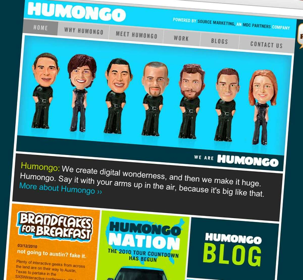 Source Marketing, a Norwalk-based marketing shop, acquired a smaller agency called Plaid, now renamed Humongo.
