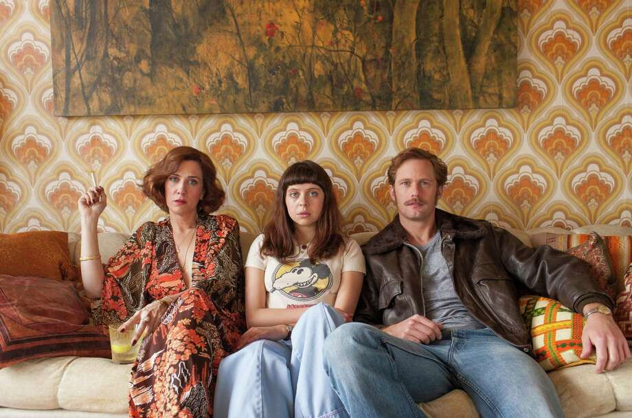 "Kristen Wiig, left, Bel Powley and Alexander Skarsgård star in ""The Diary of a Teenage Girl."" Photo: Sam Emerson, HONS / Sony Pictures Classics"