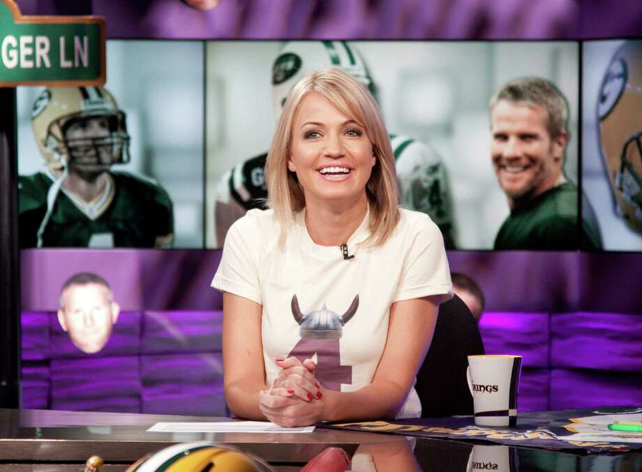 "Michelle Beadle, who anchor's ESPN's ""SportsNation"" and ""NBA Countdown,"" returns to the Alamo City for the first time since Game 5 of the 2014 NBA Finals. Photo: John Atashian /ESPN / John Atashian"