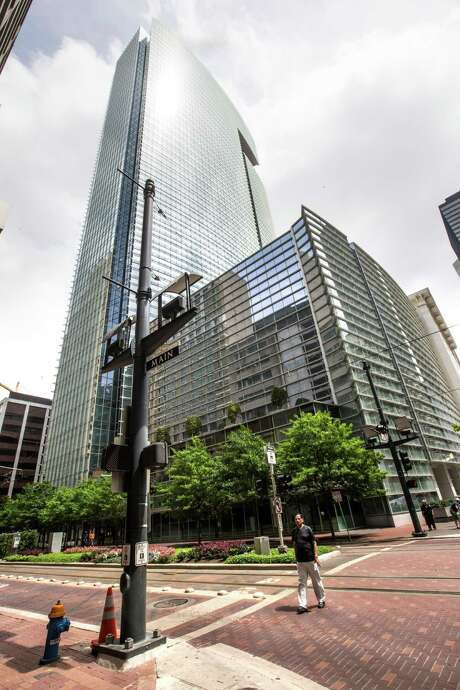 1500 Louisiana: Hines was the development manager for the 40-story office tower in downtown Houston now occupied by Chevron Corp. The building was designed by Cesar Pelli and completed in early 2002. (Jim Olive Photography) Photo: Brett Coomer, Staff / © 2015 Houston Chronicle