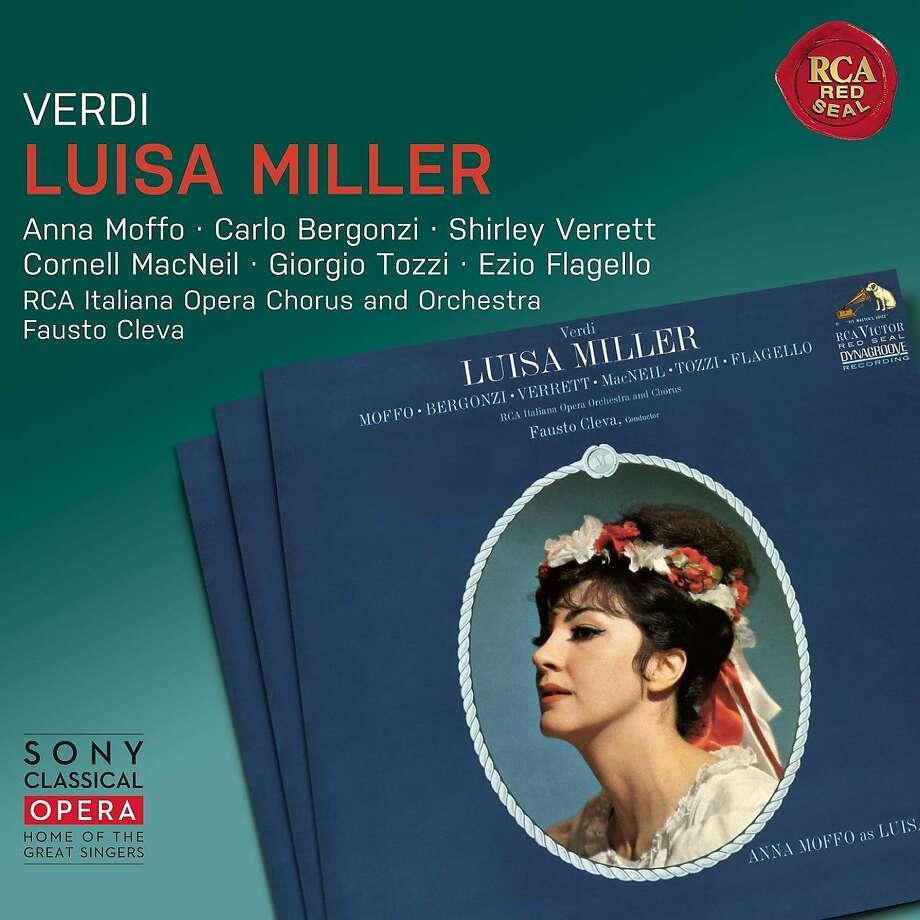 "CD cover: Verdi, ""Luisa Miller"" Photo: Sony Classical"