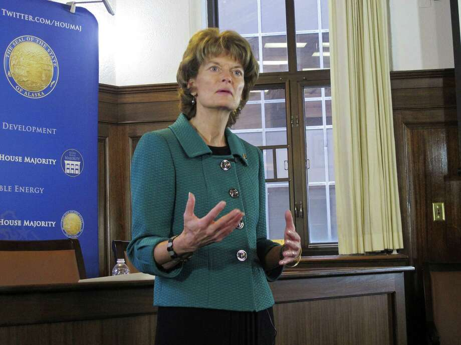 U.S. Sen. Lisa Murkowski, R-Alaska, is pushing for oil exports as the head of the Senate Energy and Natural Resources Committee. (AP Photo) Photo: Becky Bohrer, STF / AP