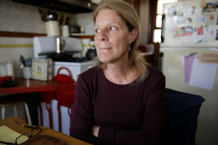 Theresa Flandrich, 60, in her house in the North Beach neighborhood of San Francisco, California, on Friday, Aug. 14, 2015. Photo: Connor Radnovich, The Chronicle