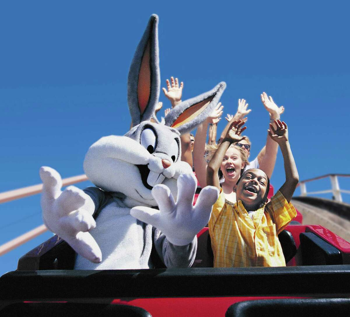 Six Flags Fiesta Texas holiday celebration comes complete with Looney Tunes characters and an opportunity to meet Santa in his castle Nov. 19 through Jan. 1.