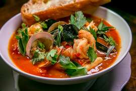 The Cioppino at the Viking Room in San Francisco, Calif., is seen on August 14th, 2015.