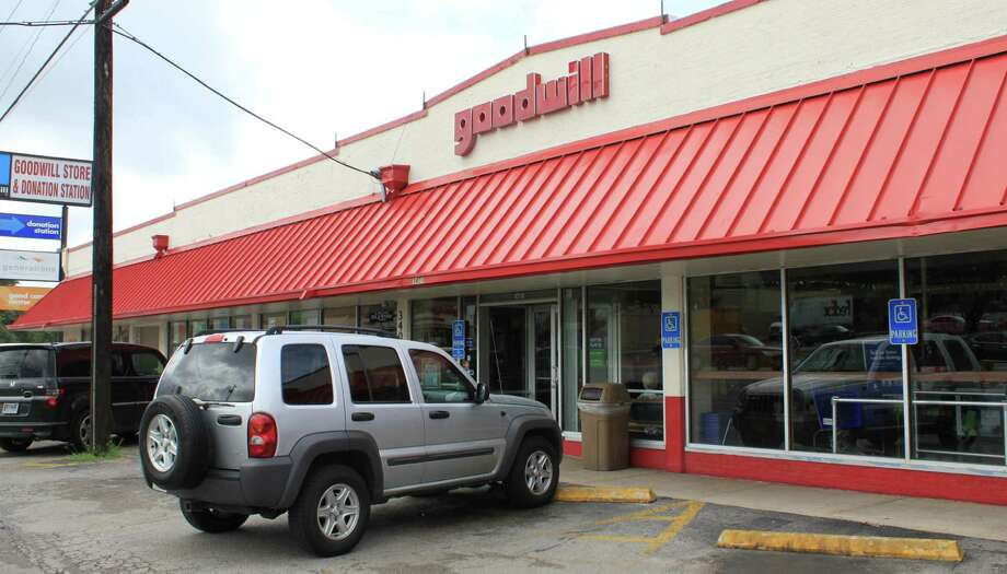The Goodwill on Fredericksburg Road  was the former factory and retail store of Texas Bakers, which made fruitcakes. Photo: /Courtesy Of Goodwill Industries,