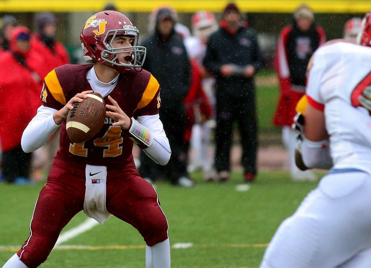 The Cadets tried a couple different options at quarterback last season before turning to the unproven Babineau full-time in Week 5. The move paid dividends, as Babineau went 8-1 as a starter and led the Cadets to the Class M-Small championship. Now a junior, he'll have to find a few new playmakers. Coach's take: