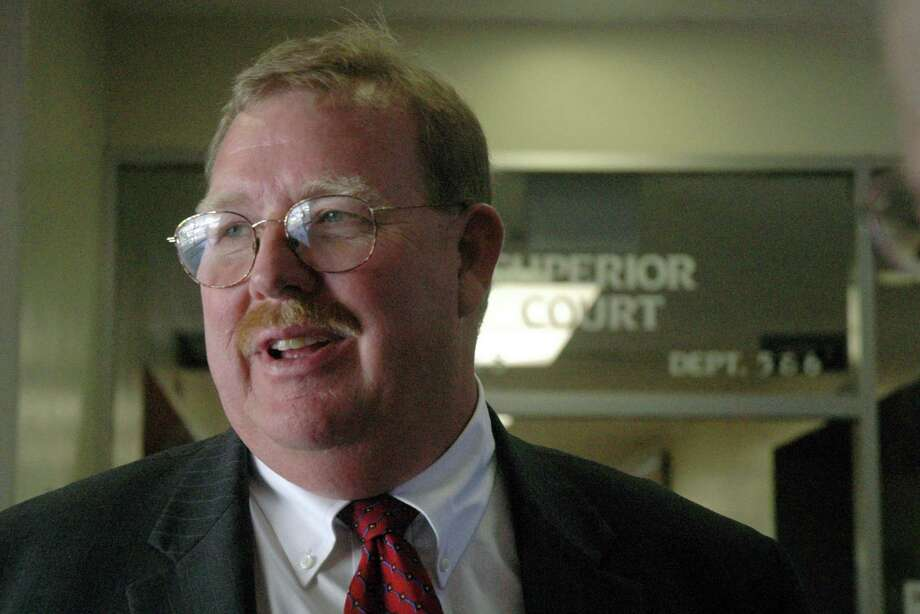 Lawyer Frank Carson is among the nine people arrested. Photo: Debbie Noda /Associated Press / The Modesto Bee
