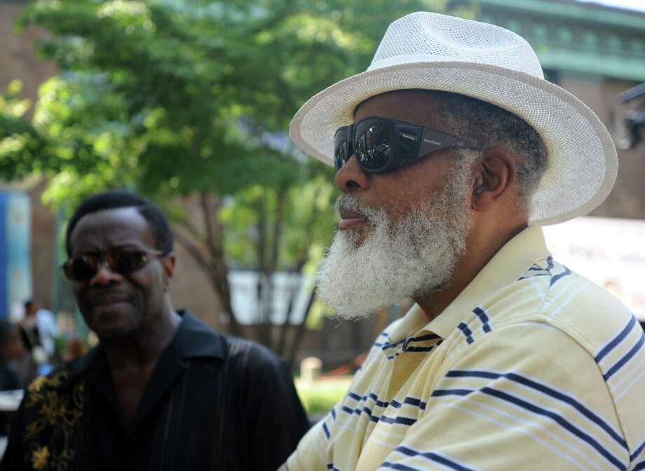 The 9th annual Jerk Fest Saturday, Aug. 15, 2015, featuring Caribbean food and reggae music on McLevy Green in downtown Bridgeport, Conn. Photo: Autumn Driscoll / Hearst Connecticut Media / Connecticut Post