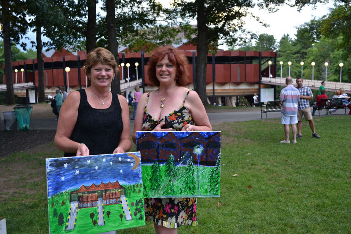 Were you Seen at Saratoga Paint and Sip Pre-Show before The Philadelphia Orchestra at SPAC on Saturday, August 15, 2015?