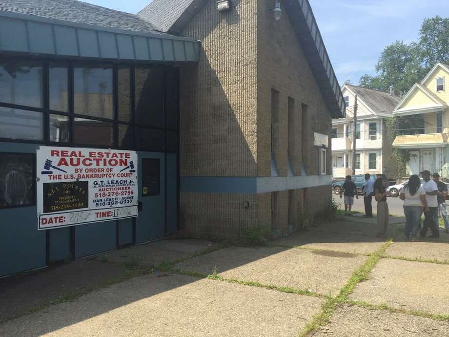 No qualified bidders emerged Saturday to purchase the former Carver Community Center properties in Schenectady, N.Y. on Saturday, Aug. 15, 2015. (Dartunorro Clark/Times Union)
