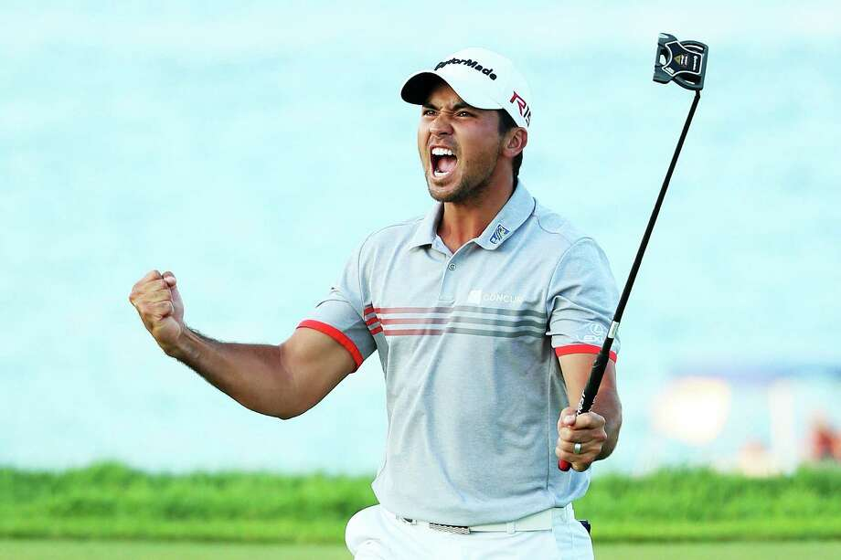SHEBOYGAN, WI - AUGUST 15:  Jason Day of Australia reacts after sinking a putt on the 17th green during the third round of the 2015 PGA Championship at Whistling Straits  at  on August 15, 2015 in Sheboygan, Wisconsin.  (Photo by Andrew Redington/Getty Images) Photo: Andrew Redington, Staff / 2015 Getty Images