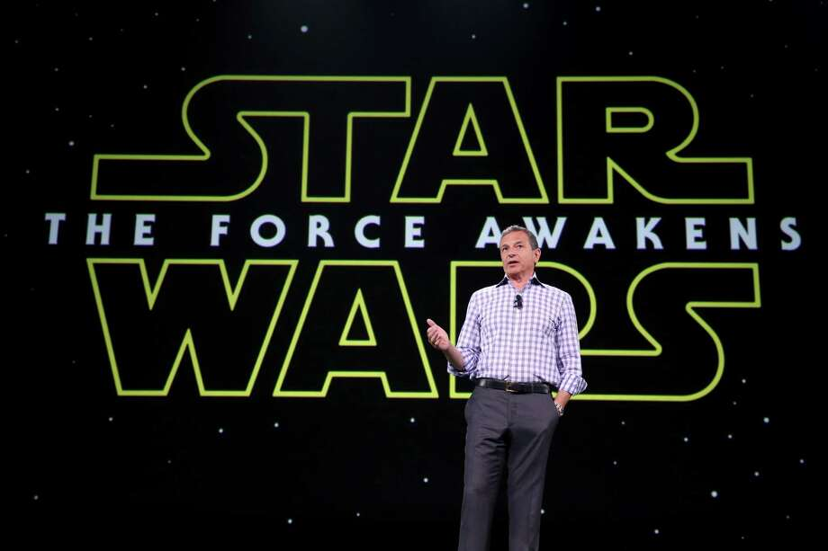 "Walt Disney Company Chairman and CEO Bob Iger took part Saturday in ""Worlds, Galaxies, and Universes: Live Action at The Walt Disney Studios"" presentation at Disney's D23 EXPO 2015 in Anaheim, Calif.  Photo: Jesse Grant, Stringer / 2015 Getty Images"