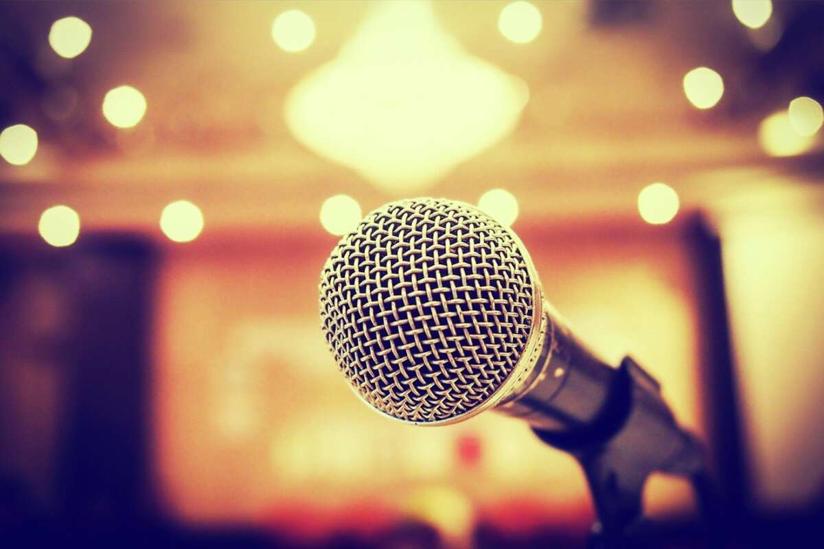 According to most studies, public speaking is the No. 1 fear for most Americans. The No. 2 fear is death.