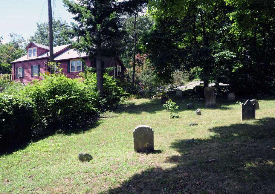 The Old Byram Burying Ground off Byram Shore Road in Greenwich, Conn., Thursday, Aug. 13, 2015. Photo: Bob Luckey Jr. / Hearst Connecticut Media / Greenwich Time