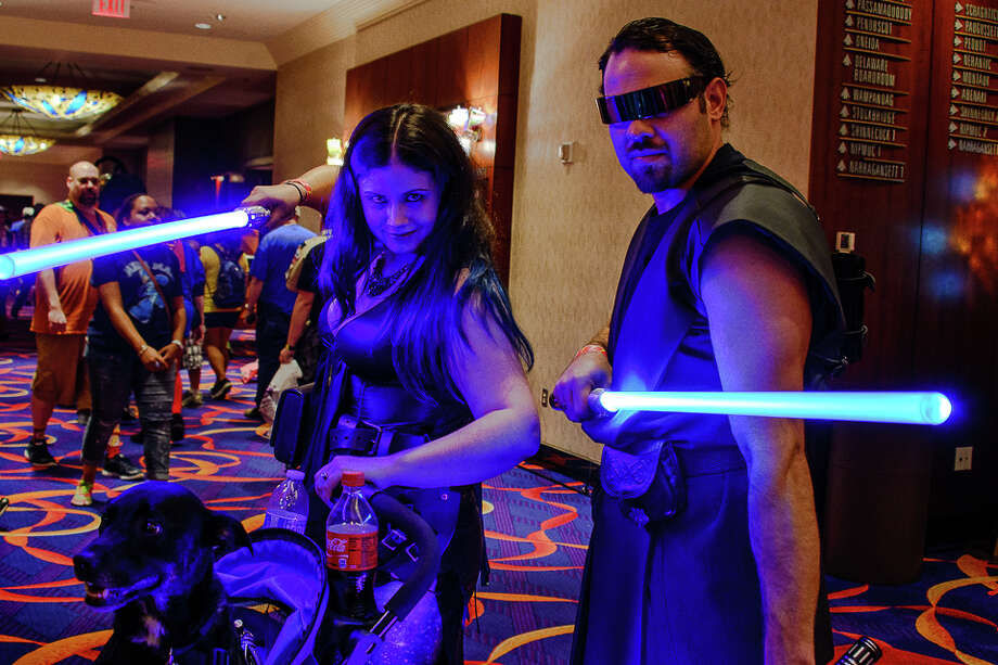 Mohegan Sun Casino hosted Connecticut Comicon on August 14-16, 2015. Were you SEEN? Photo: Jon Edford / Hearst Connecticut Media Group